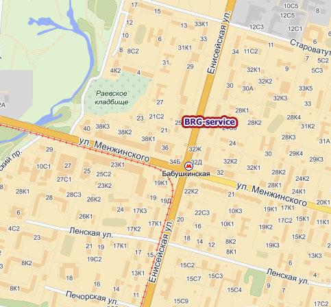 Доезжаем до станции метро бабушкинская, идем к выходу, ближайшему к последнему вагону по направлению из центра